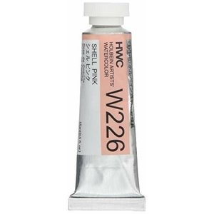 ホルベイン 透明水彩絵具 15ml W226 シェル ピンク|5107store