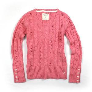 77kids アメリカンイーグル子供服 ガールズセーター 77k13 Pink ピンク 5〜12歳|5445