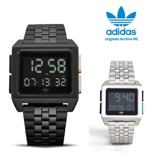 adidas originals アディダス オリジナルス 腕時計 ウォッチ ARCHIVE_M1 CK3106 CK108 並行輸入品 限定 ad19 ブラック/シルバー|5445