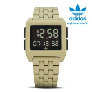 adidas originals アディダス オリジナルス 腕時計 ウォッチ Archive CM1 LTD Linen Khaki/Black CK3109 並行輸入品 限定 ad20|5445