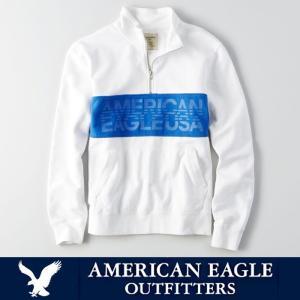 アメリカンイーグル メンズ プルオーバー ジップ ZIP MOCK NECK American Eagle AE ae1907|5445