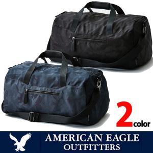 アメリカンイーグル メンズ ドラムバッグ AE  American Eagle ae1911 ブラック ネイビー|5445