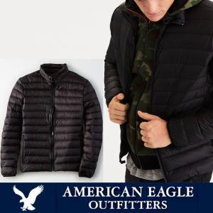 アメリカンイーグル メンズ ダウンジャケット American Eagle AE ae1914 ブラック|5445