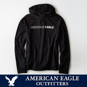 アメリカンイーグル メンズ アクティブワッフルフーディー パーカー American Eagle AE ae1916 ブラック|5445
