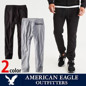 アメリカンイーグル メンズ セーターフリース ジョガー パンツ American Eagle AE ae1919 チャコール グレー|5445