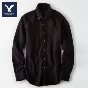 胸ポケットのイーグル刺繍がワンポイントになっているアメリカンイーグルのワークシャツです。<BR...