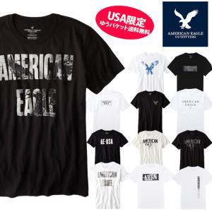 アメリカンイーグル 半袖 Tシャツ USAモデル メンズ AE American Eagle  ae77 送料無料|5445