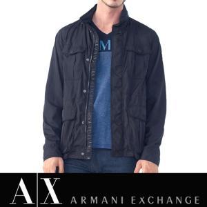 アルマーニ エクスチェンジ A/X ARMANI EXCHANGE メンズ ナイロンジャケット ax517 ブラック|5445
