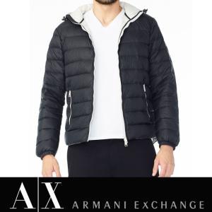 アルマーニ エクスチェンジ A/X ARMANI EXCHANGE メンズ ダウンジャケット ax532 ブラック|5445