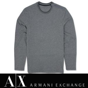 アルマーニ エクスチェンジ A/X メンズ ロングTee ロンT  ax534 グレー|5445