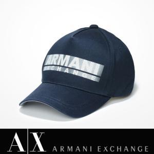 アルマーニエクスチェンジ キャップ 帽子 ARMANI EXCHANGE A/X 正規 ax610 ネイビー|5445