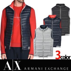 アルマーニ エクスチェンジ A/X ARMANI EXCHANGE メンズ ダウンベスト ax619|5445
