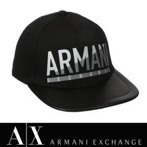 アルマーニエクスチェンジ キャップ 帽子 ARMANI EXCHANGE A/X 正規 ax620 ブラック|5445