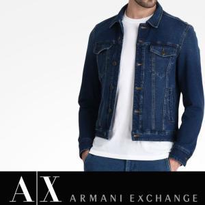 アルマーニ エクスチェンジ ジージャン デニムジャケット A/X ARMANI EXCHANGE メンズ ax621|5445