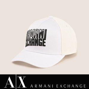 A/X アルマーニ・エクスチェンジ・ユニセックス ARMANI EXCHANGE 正規 キャップ ハット 帽子 ax638 ホワイト 5445