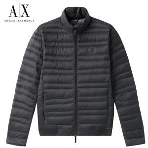 A/X アルマーニ・エクスチェンジ ダウンジャケット ARMANI EXCHANGE 正規  ax661 ブラック|5445