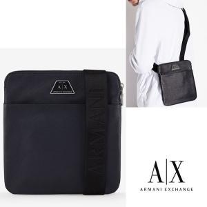 A/X アルマーニ エクスチェンジ ショルダーバッグ  Bag ARMANI EXCHANGE 正規 ax695 ネイビー SHOULDER BAG IN FAUX LEATHER 5445