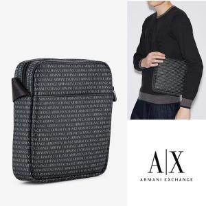 A/X アルマーニ エクスチェンジ ショルダーバッグ  Bag ARMANI EXCHANGE 正規 ax698 ブラック GRAFFITI LOGO 5445
