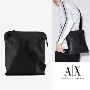 A/X アルマーニ エクスチェンジ ショルダーバッグ  Bag ARMANI EXCHANGE 正規 ax699 ブラック LOGO CROSSBODY BAG 5445