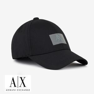 A/X アルマーニ・エクスチェンジ・ユニセックス ARMANI EXCHANGE 正規 キャップ ハット 帽子 ax702 ブラック 5445