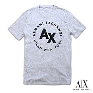 アルマーニエクスチェンジ メンズ  半袖 Tシャツ  A/X  ARMANI EXCHANGE USA正規品 ax716 グレー 5445