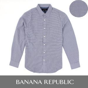 バナリパ BANANA バナナリパブリック 長袖シャツ ギンガムチェック ba296 ネイビー|5445