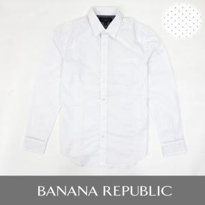 バナリパ BANANA バナナリパブリック 長袖シャツ ピンドット ba299 5445
