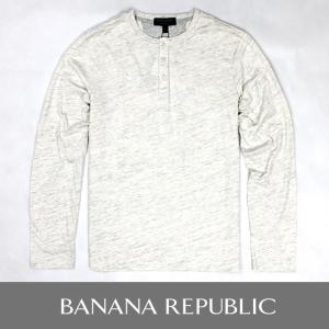 BANANA REPUBLIC バナナリパブリック ヘンリーネック ロングTシャツ 長袖Tシャツ ba309|5445