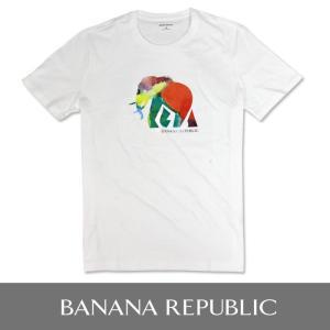 BANANA REPUBLIC バナナリパブリック メンズ Tシャツ 半袖 プリント USA直輸入 ブランド ba323 バナリパ|5445