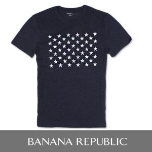 BANANA REPUBLIC バナナリパブリック メンズ Tシャツ 半袖 プリント USA直輸入 ブランド ba327 ネイビー|5445