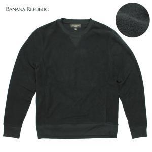 BANANA REPUBLIC バナナリパブリックメンズ フリース素材 長袖 ba340 チャコール|5445