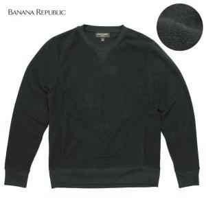 BANANA REPUBLIC バナナリパブリックメンズ フリース素材 ハイネック タートルネック 長袖 ba341 チャコール|5445