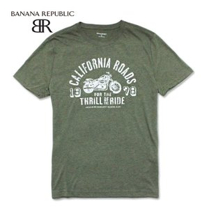 BANANA REPUBLIC バナナリパブリック メンズ Tシャツ 半袖 プリント USA直輸入 ブランド バナリパ ba348|5445