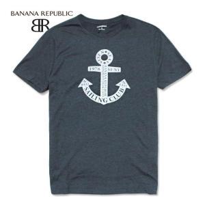 BANANA REPUBLIC バナナリパブリック メンズ Tシャツ 半袖 プリント USA直輸入 ブランド バナリパ ba350|5445