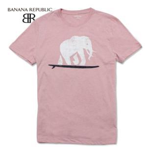 BANANA REPUBLIC バナナリパブリック メンズ Tシャツ 半袖 プリント USA直輸入 ブランド バナリパ ba351|5445
