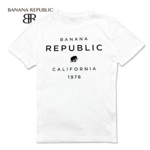 BANANA REPUBLIC バナナリパブリック メンズ Tシャツ 半袖 プリント USA直輸入 ブランド バナリパ ba353|5445