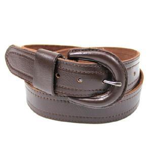 本革ベルト MENSメンズ男性用 vintageヴィンテージ加工 お洒落なベルト belt279 Brownブラウン|5445