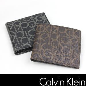 カルバンクライン 財布 CALVIN KLEIN CK モノグラム レザー ck316 |5445