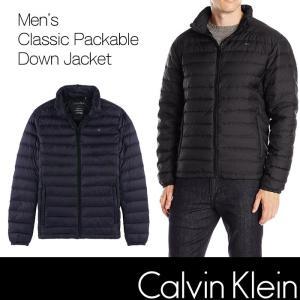 カルバンクライン ダウンジャケット CK  Calvin Klein 黒 ブラック ck337|5445