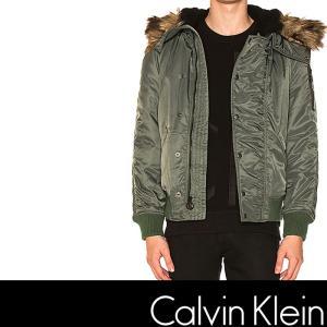 カルバンクライン フライトジャケット CK  Calvin Klein N-2B FLIGHT JACKET オリーブ ck339|5445
