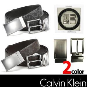 カルバンクライン メンズ ベルト【Calvin Klein】CK  ck342 ブラック ブラウン 4パターン可能|5445