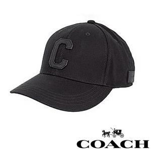コーチ COACH メンズ キャップ 帽子 ブラック co43 5445