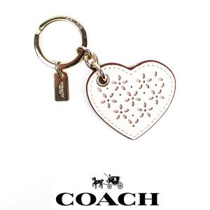 COACH コーチ  キーホルダー キーリング 母の日 誕生日 co46 ハート 5445