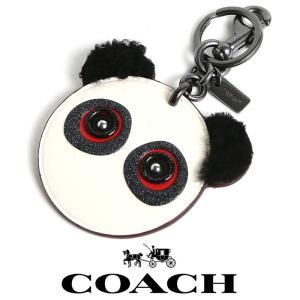 コーチ COACH アクセサリー キーホルダー F21540 コーチ ロッキーフェイス バッグ チャーム キーリング アウトレット品 パンダ co51 5445