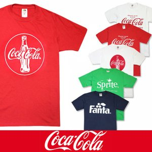 コカコーラ メンズ Tシャツ COKE コカ・コーラ ファンタ スプライト Tee 6種類 coke01|5445
