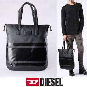 ディーゼル DISEL トートバッグ ショルダー バック di138 ブラック 送料無料|5445