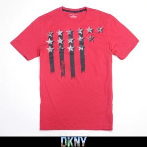 DKNY JEANS ダナキャラン ニューヨーク メンズ Tシャツ dk208 レッド|5445