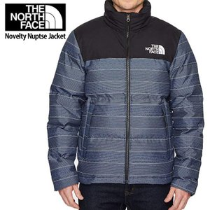 ノースフェイス ダウン ジャケット メンズ The North Face Novelty Nuptse Jackett fa38 ブラック/Urban Navy Multi|5445
