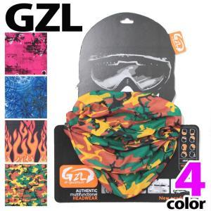 GZL チューブ バンダナ ネックウォーマー  マフラー キャップ 送料無料 gzl224 4色|5445