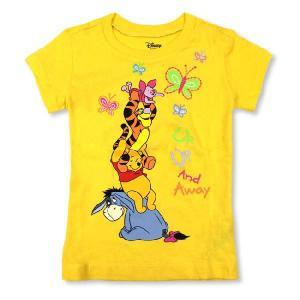 DISNEY ディズニー 子供服 Tシャツ イエロー ティガー kid02 2-4歳|5445